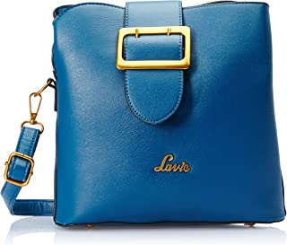 Lavie Jana Women's Sling Bag (Blue)