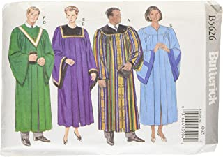 BUTTERICK PATTERNS B5626 Unisex Robe and Collar