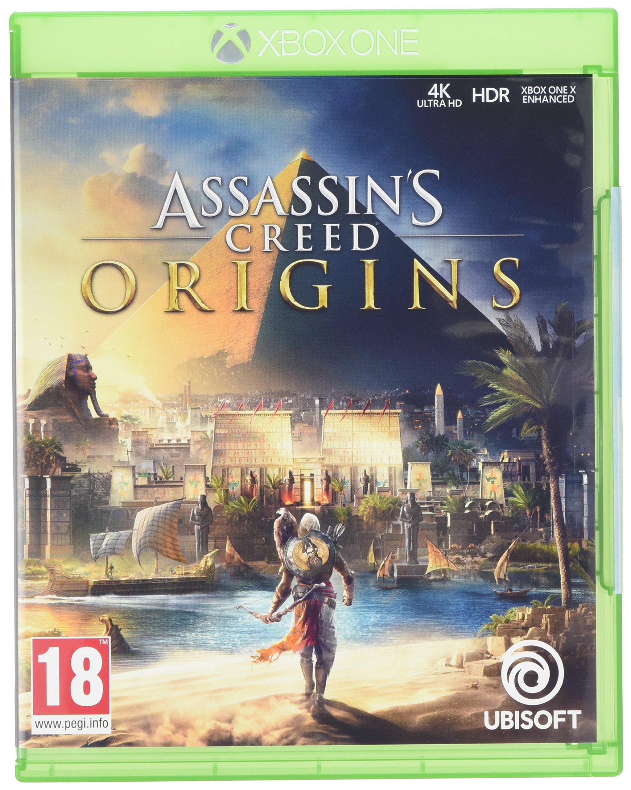 Assassins Creed Origins - Xbox One [Importación inglesa]: Amazon ...