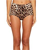 Dolce & Gabbana - Cheetah High Waisted Bikini Bottom