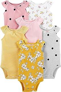 Baby 6-Pack Sleeveless Bodysuit