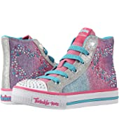 SKECHERS KIDS - Twinkle Toes - Shuffles 10731L Lights (Little Kid/Big Kid)
