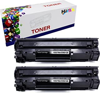 HIINK Compatible Toner Replacement for CRG128 CE278A use with HP Laserjet Pro P1560 P1566 P1600 P1606 M1536 Canon imageclass D530 D550 FaxPhone L100 L190 MF4770n MF4570dw MF4770N(Black 2-Pack)