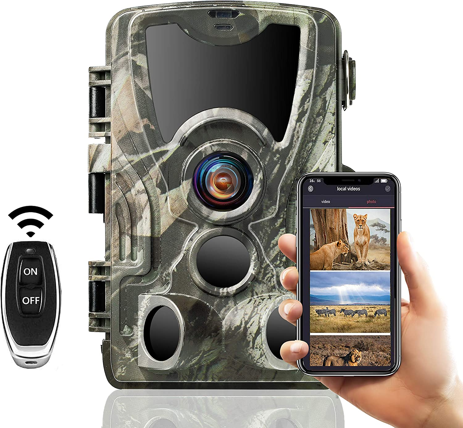 Fort Worth Mall SUNTEKCAM Trail Camera WiFi OFFicial site - 24MP Game Night with Cameras 1080P