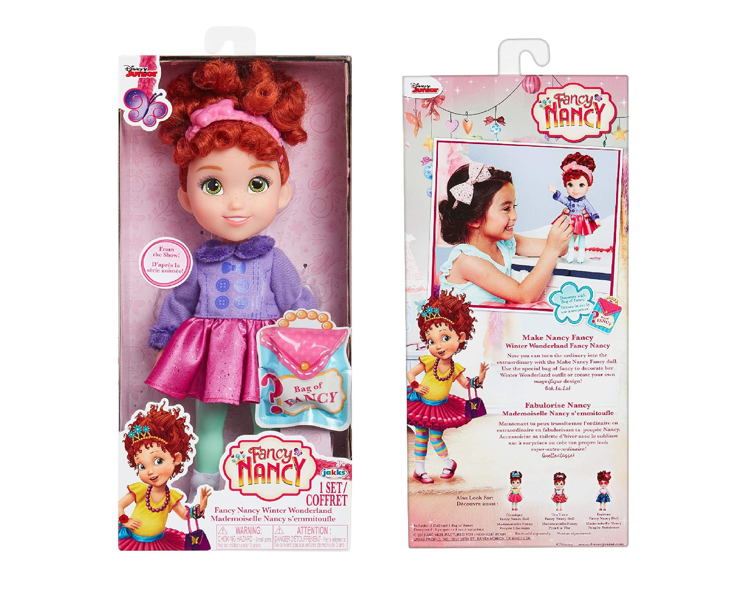 """Fancy Nancy - 10"""" Winter Wonderland Doll w/ Surprise Bag of Fancy"""