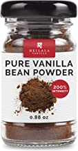 Vanilla Bean Powder - Pure Ground Vanilla Beans, Premium Bourbon Variety, Raw, Unsweetened, Ethically Sourced & Hand-Picked from Polynesia, Perfect for Sugar-Free & Raw Recipes, 0.88 oz