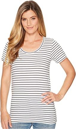 Marshmallow/Parisian Nights Stripe