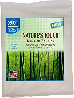 Pellon B-72 Nature's Touch Bamboo Blend Batting W/Scrim - Twin 72