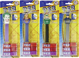 PEZ DC Comic Justice League, 0.87 Ounce (Pack of 12),Assorted Characters
