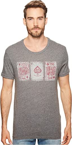 Lucky Brand - Poker Cards Tee