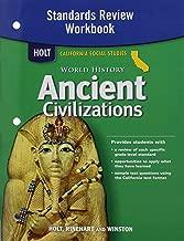 Holt World History: Standards Review Workbook Grades 6-8 Ancient Civilizations