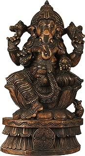 Best ganesha wood carving Reviews