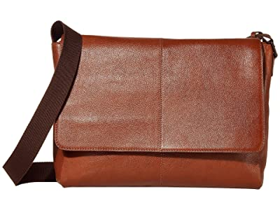 Scully Dannie Messenger Bag (Tan) Bags