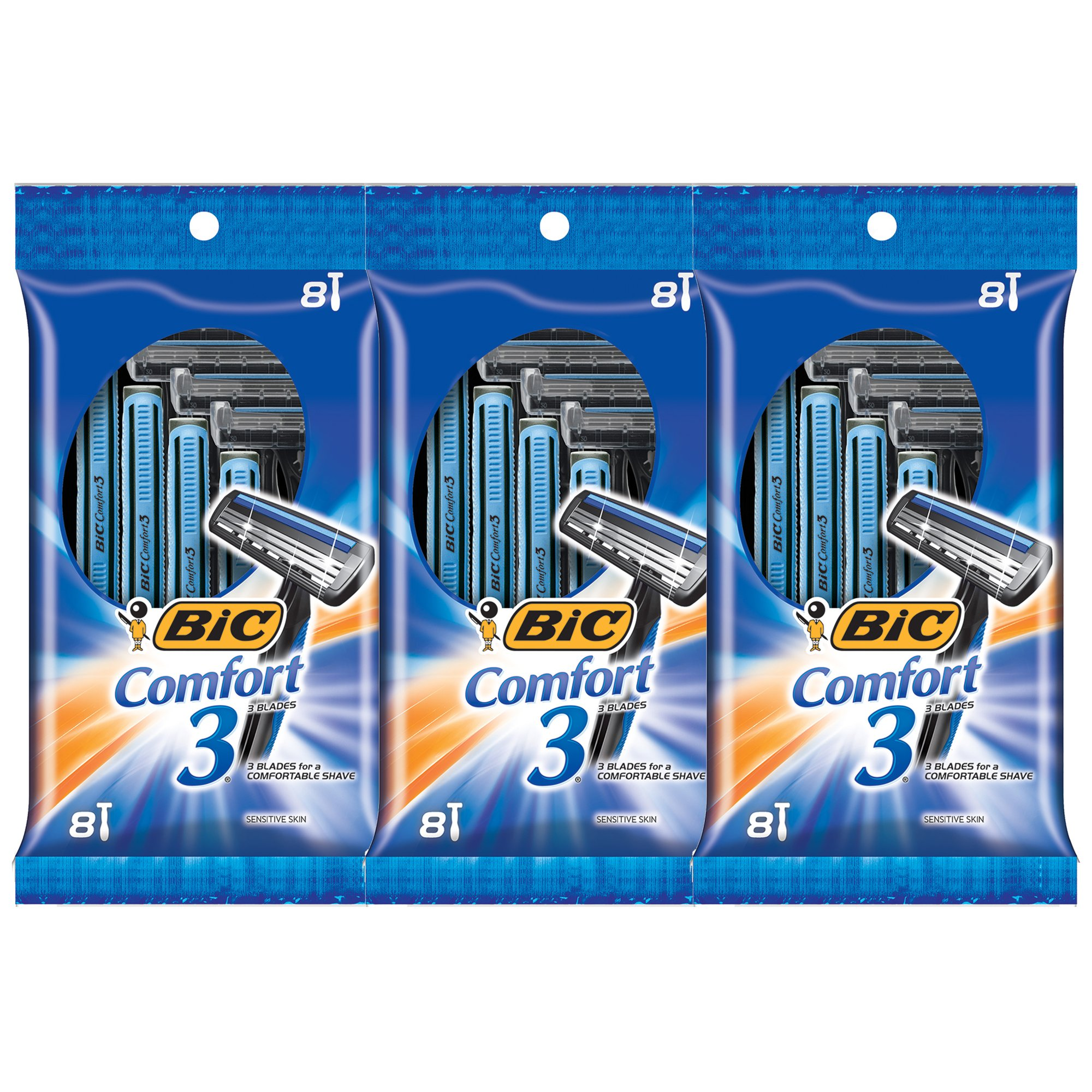BIC Comfort Disposable Razor Count