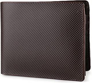 Wallet for Men Italian Leather RFID Blocking Bifold Stylish Wallet With 2 ID Window