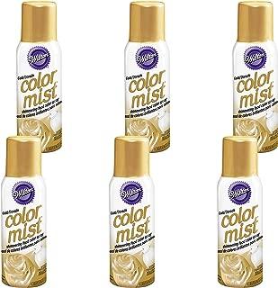 food color spray gold