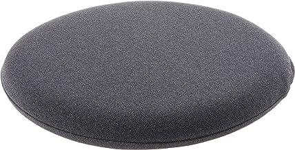 Muji 2564001 Urethane Foam Seat Cushion, Round, 36cm, Charcoal