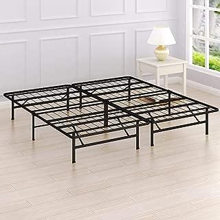Simple Houseware 14-Inch King Size Mattress Foundation Platform Bed Frame, King