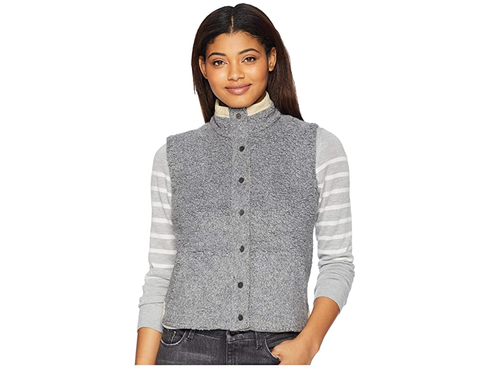 Toad&Co Sheridan Sherpa Vest (Grey Heather) Women