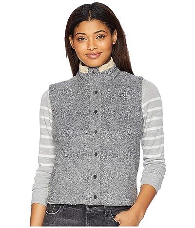 Toad&Co Sheridan Sherpa Vest (Grey Heather) Women