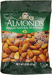 Madi K's Whole Natural Almonds, 2-Ounce Bags (Pack of 36)