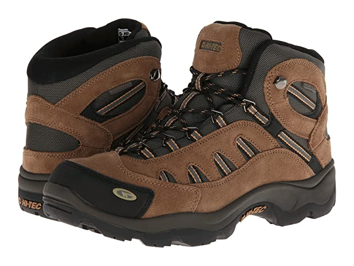 Hi-Tec  Bandera Mid WP (Bone/Brown/Mustard) Mens Hiking Boots