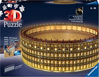 Ravensburger - Puzzle 3D - Building - Colisée illuminé - 11148
