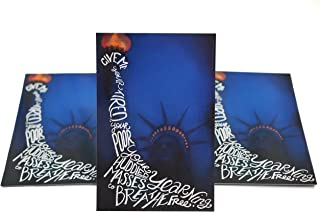 Lady Liberty Postcards. Set of cards with the Statue of Liberty and a poem, perfect for Writing to Your Representatives or Get Out the Vote Campaigns like Postcards to Voters (50)