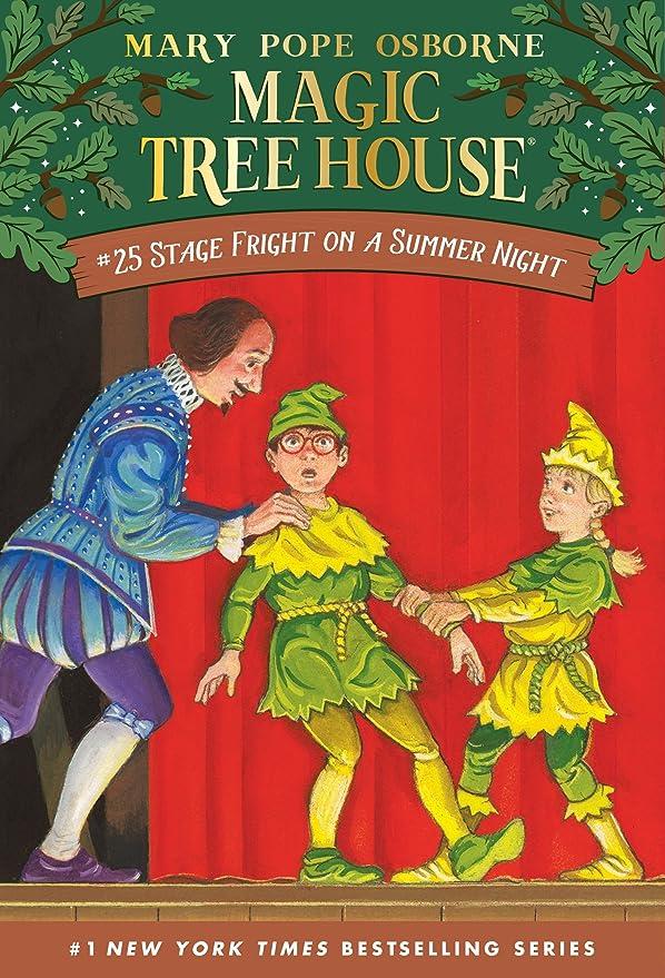 オーロックスロット味わうStage Fright on a Summer Night (Magic Tree House Book 25) (English Edition)