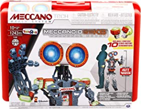 Meccano MeccaNoid G15KS 1243 Piece Robot Building Kit with Carrying Case
