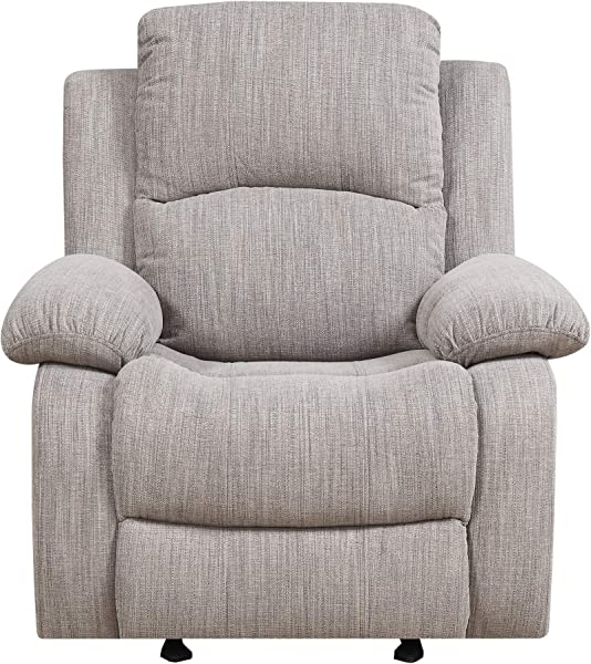 Henson Reclining Glider In Mineral With Glide And Recline Motion By Artum Hill