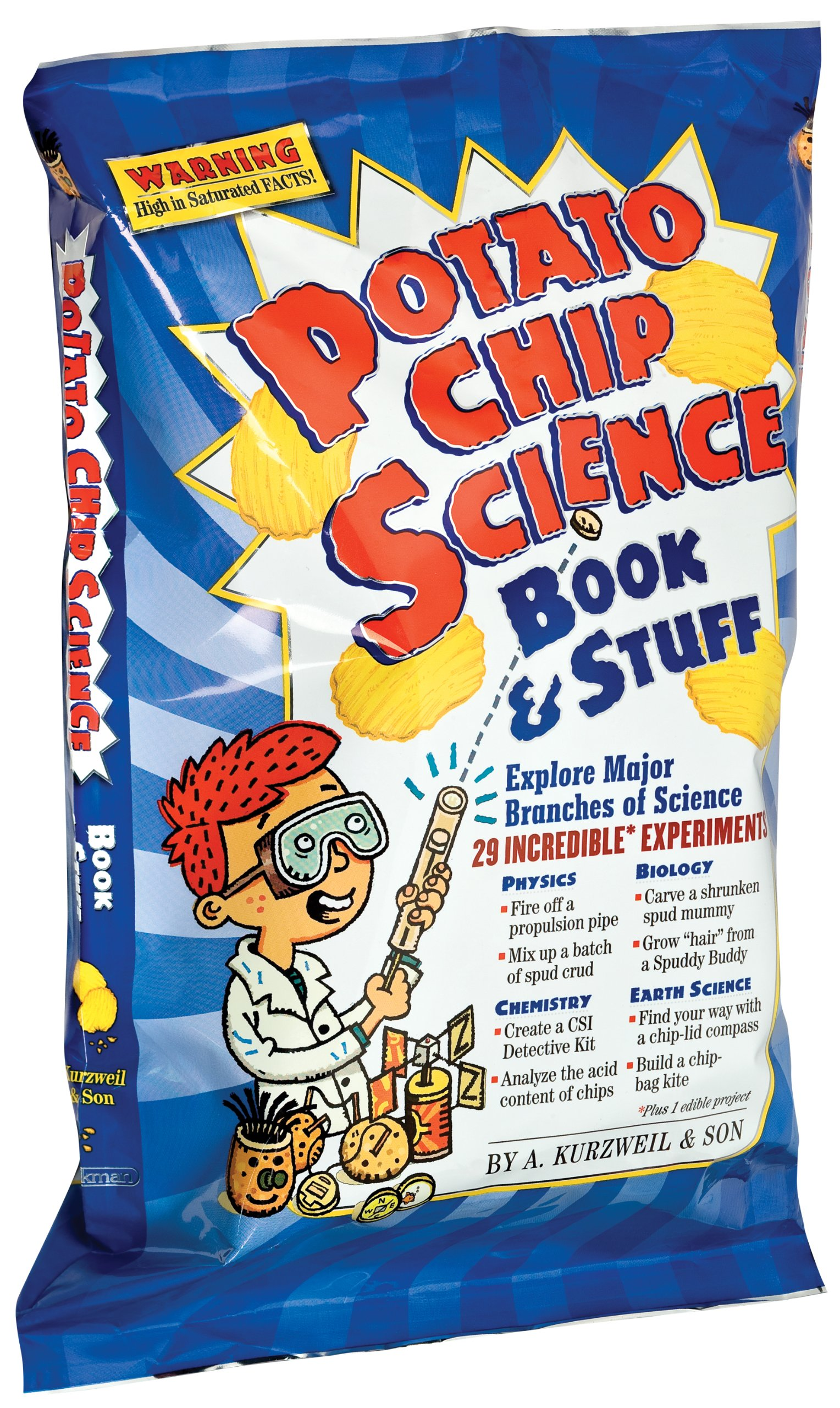 Download Potato Chip Science: 29 Incredible Experiments 