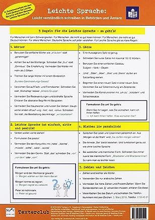 Die Leichte-Sprache-Tafel: Leicht verständlich schreiben in Behörden und Ämtern