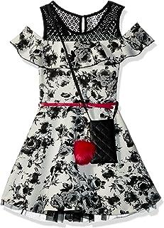 فستان بناتي كبير بكشكشة من Beautees