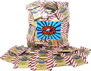 CrazyOutlet Pack - Ghirardelli Peppermint Bark Squares Candy, Individually Wrapped, 2 lbs