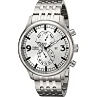 Men's 0366 II Collection Multi-Function Stainless Steel Watch