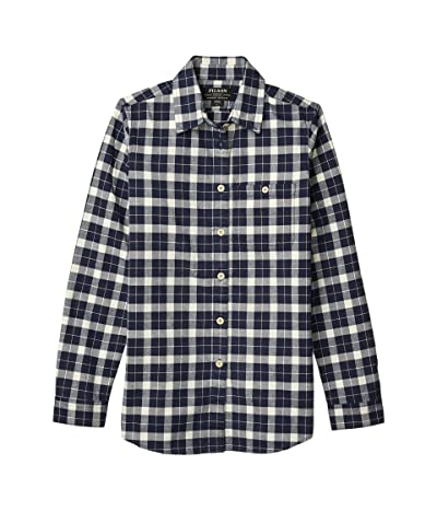 Filson Alaskan Guide Shirt (Dark Navy/Cream) Women