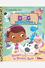 Boomer Gets His Bounce Back (Disney Junior: Doc McStuffins) (Little Golden Book) Kindle Edition
