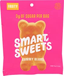 Smart Sweets, Gummy Bears Fruity, 1.8 Ounce
