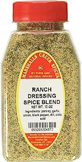Marshalls Creek Kosher Spices RANCH DRESSING SPICE BLEND NO SALT, 10 OZ