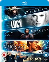5-Movie Starter Pack: Lucy/Dracula Untold/47 Ronin/Immortals/R.I.P.D
