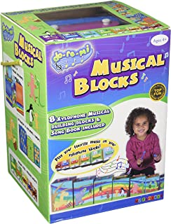 Babalu Do Re Mi Musical Stacking Blocks