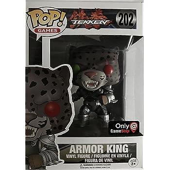 Amazon Com Funko Pop Armor King Gamestop Exclusive 202 Tekken
