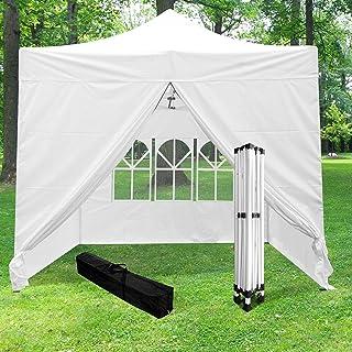 WeSkate Tonnelle de Jardin 3x3m Tente Pliable Impermeable Tente Jardin Exterieur R/églable en Hauteur pour Camping Festival Plage Jardin F/ête et Sac de Transport