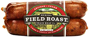 Field Roast Vegetarian Grain Meat Sausages, Mexican Chipotle, 12.95 oz (Frozen)