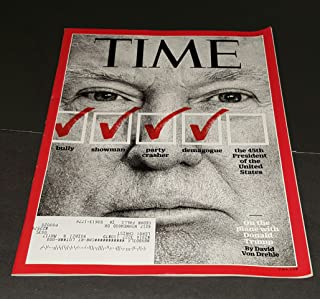 Time Magazine (March 14, 2016) Donald Trump Cover
