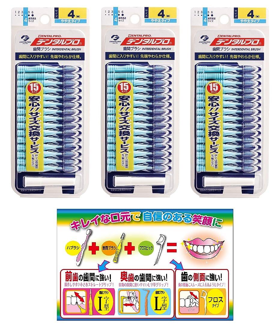 財団用量介入する【Amazon.co.jp限定】DP歯間ブラシ15P サイズ4 3P+リーフレット