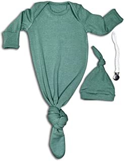 Best snuggle knotted baby gown Reviews