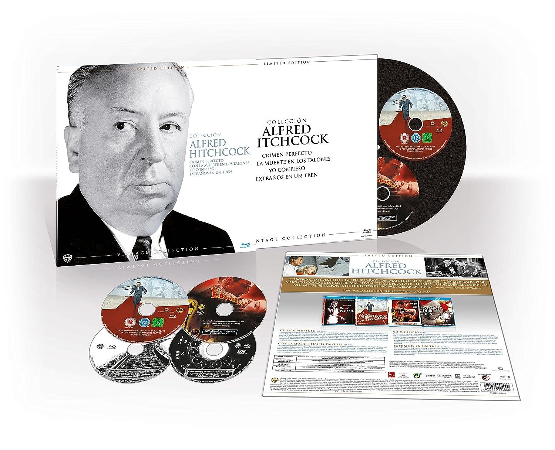 Spanish 4-BD Alfred Hitchcock Colección Vintage