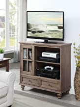 Convenience Concepts Tahoe TV Stand, Driftwood